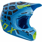FOX V3 GRAV BLUE HELMET