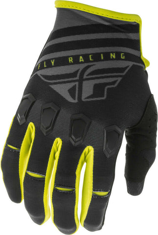FLY KINETIC K220 BLACK/GREY/HI-VIS GLOVE
