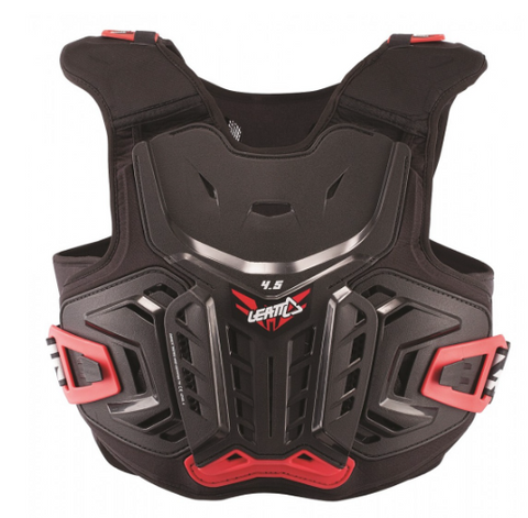 Chest Protector 4.5 Jr 134-146cm Black/red Leatt  Hard Shell