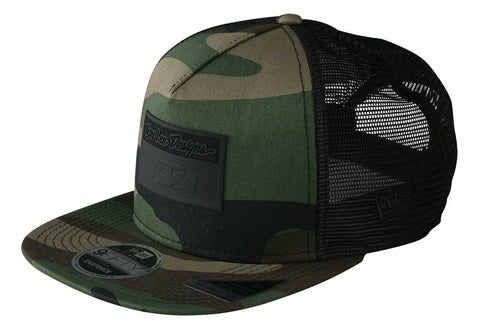 KTM 2020 TLD KTM TEAM CAMO SNAPBACK (GREEN /TAN)