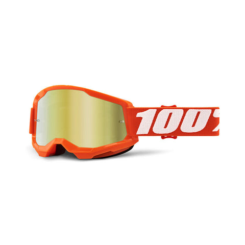 STRATA 2 GOGGLE ORANGE MIRROR GOLD LENS