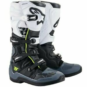 Tech 5 Boots - Black/Gray/White