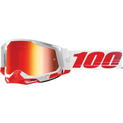 100 % Racecraft 2 Goggles - St. Kith - Red Mirror