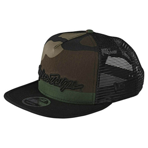 Troy Lee Designs Signature Snapback Army Camo Osfa
