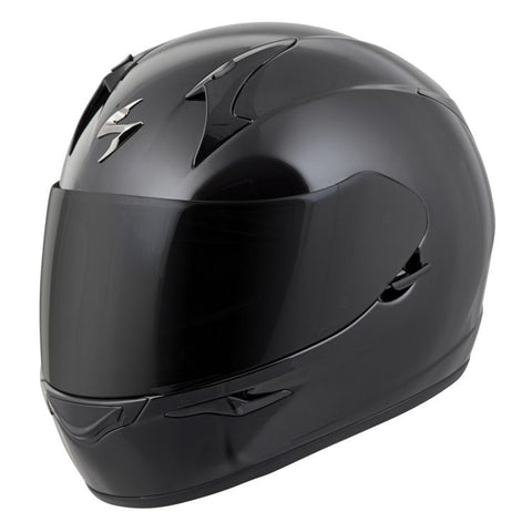 SCORPION EXO-R320 SOLID GLOSS BLACK HELMET