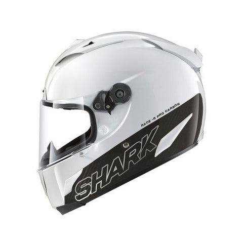 SHARK RACE-R PRO CARBON WHITE HELMET