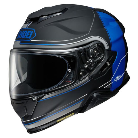 SHOEI GT-AIR II CROSSBAR TC-10 MATTE BLACK/BLUE HELMET