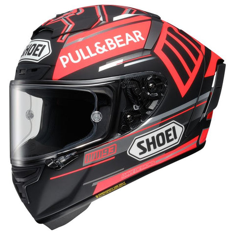 SHOEI X-14 MARQUEZ BLACK CONCEPT TC1