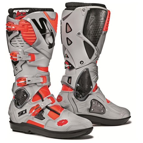 SIDI STIVALI CROSSFIRE 3 SRS RED FLUO ASH BOOT