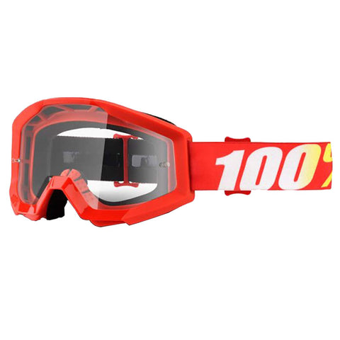 100% THE STRATA FURNACE/CLEAR LENS GOGGLE