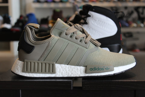 Adidas NMD R1 Olive and Black