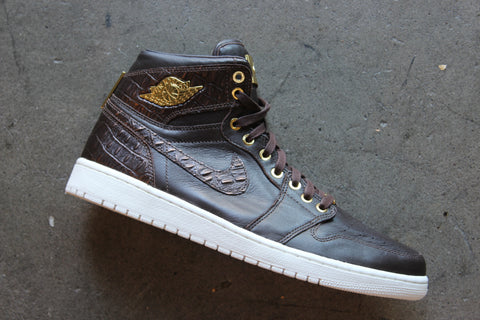 Air Jordan 1 Pinnacle Croc Leather