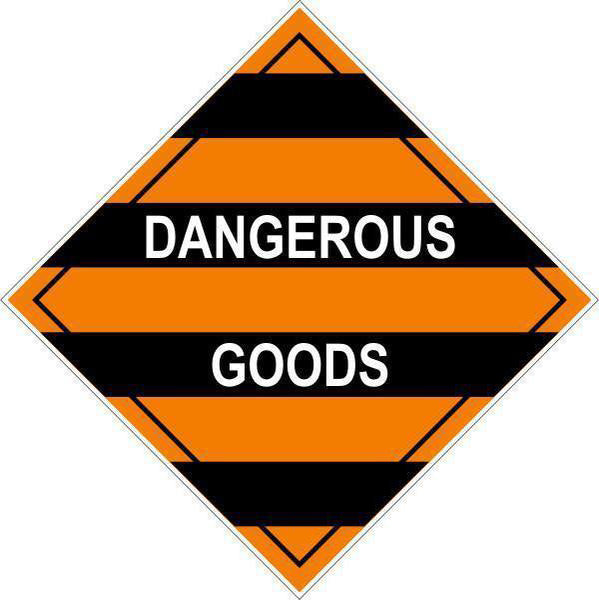 Hazchem Diamond  Mixed Class Dangerous Goods  Sign