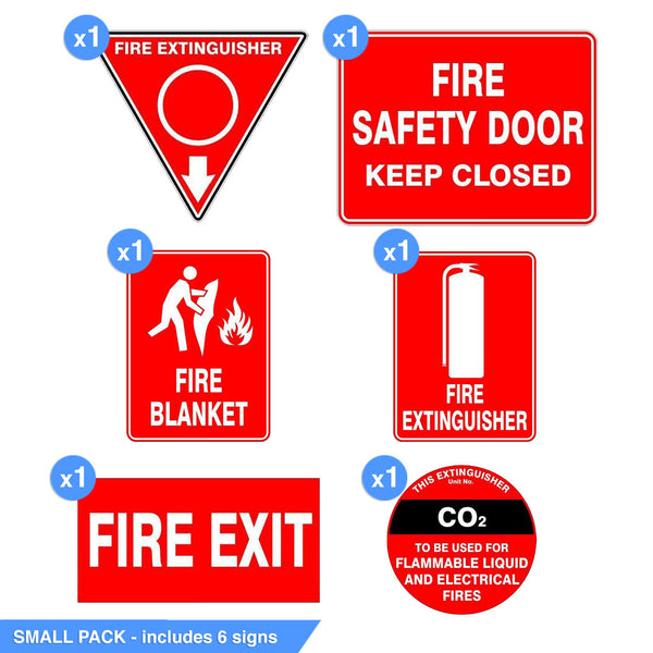 FIRE SIGNAGE PACK