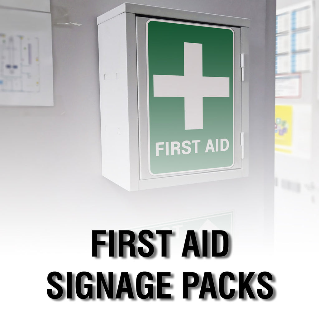 FIRST AID SIGNAGE PACK