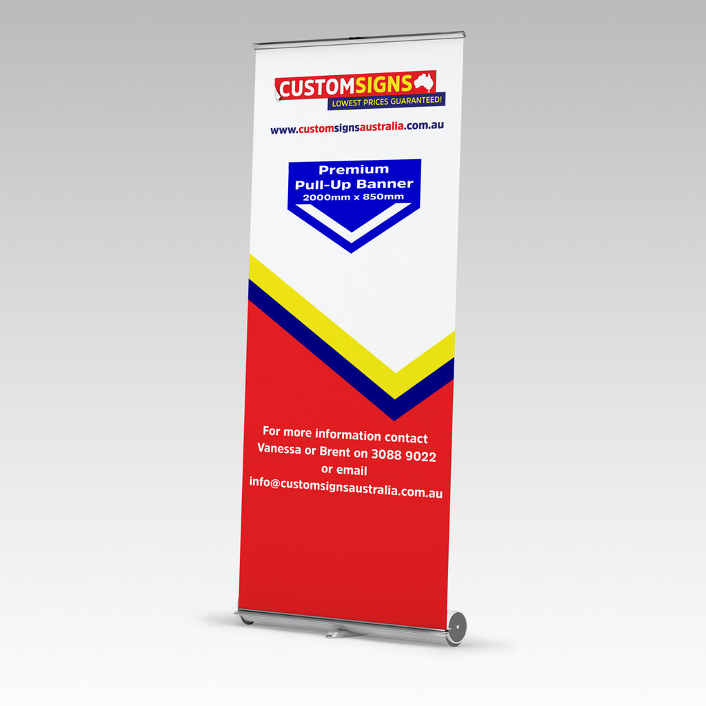 Premium Single Side Pull Up Banners