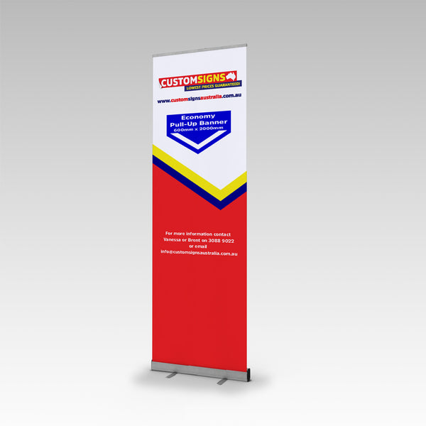 Custom Economy Single Side Pull Up Banner
