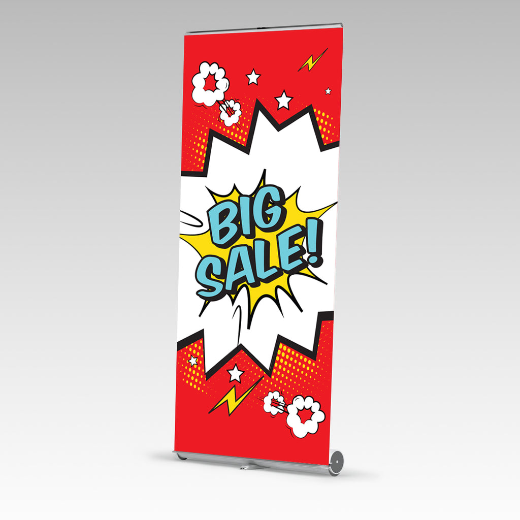 Big Sale Premium Single Side Pull Up Banner