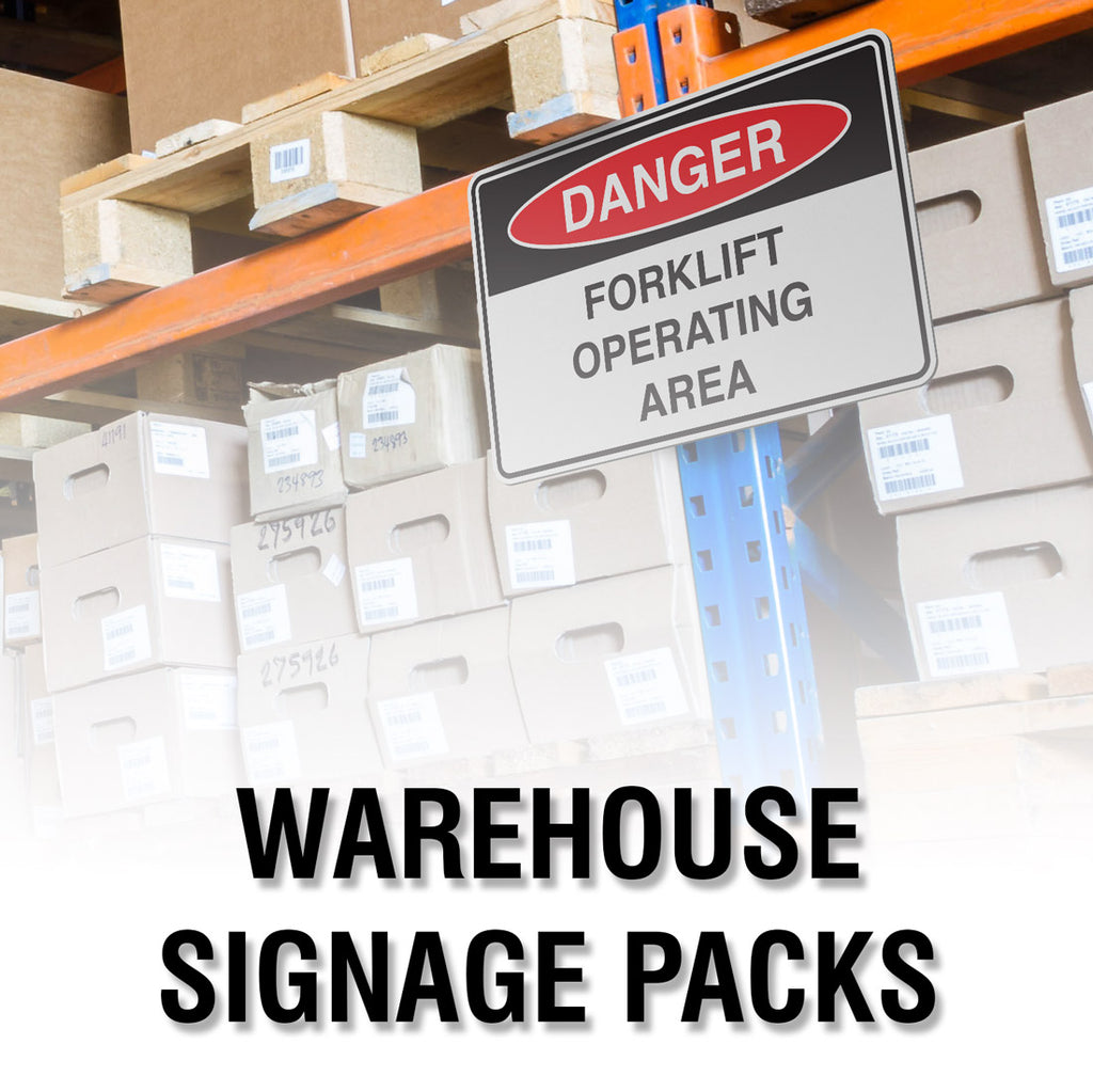 WAREHOUSE SIGNAGE PACK