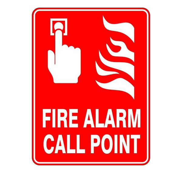 Fire Safety  Fire Alarm Call Point  Sign