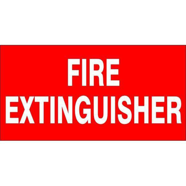 Fire Safety  Fire Extinguisher  Sign