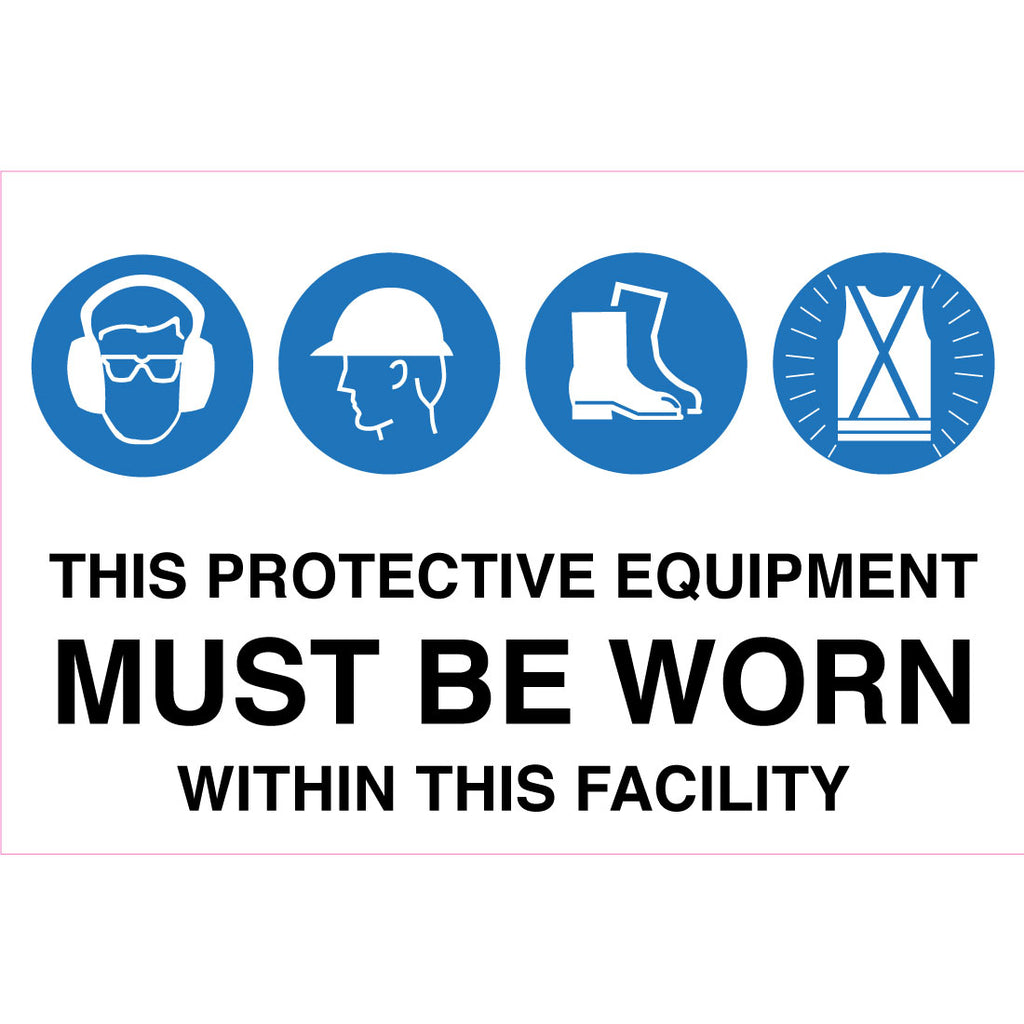 Multiple Condition Within This Facility  Sign