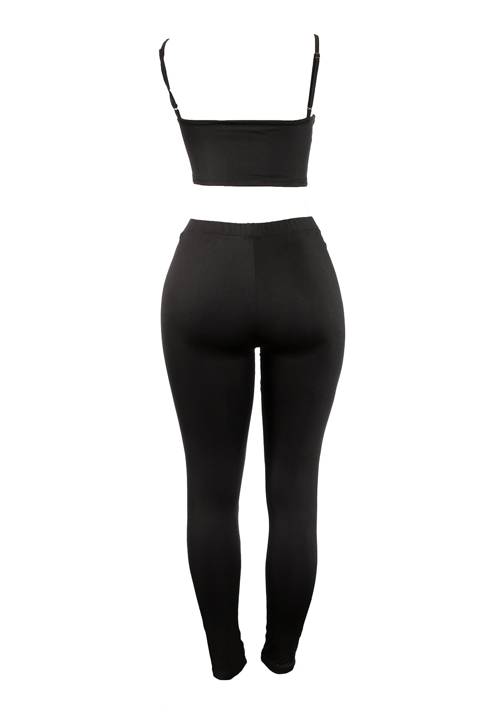 Uma Crop Tank Leggings Set