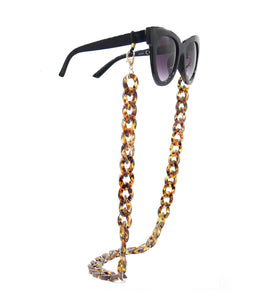 sunglasses & masks chains - cuban links - large