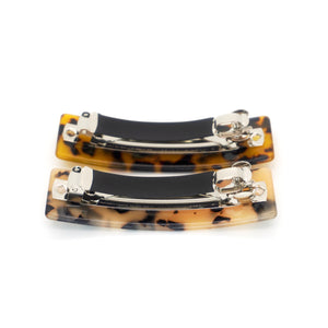 classic barrettes - medium size ( Set of 2)