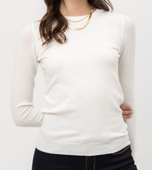 Ivory Pearl Long Sleeve