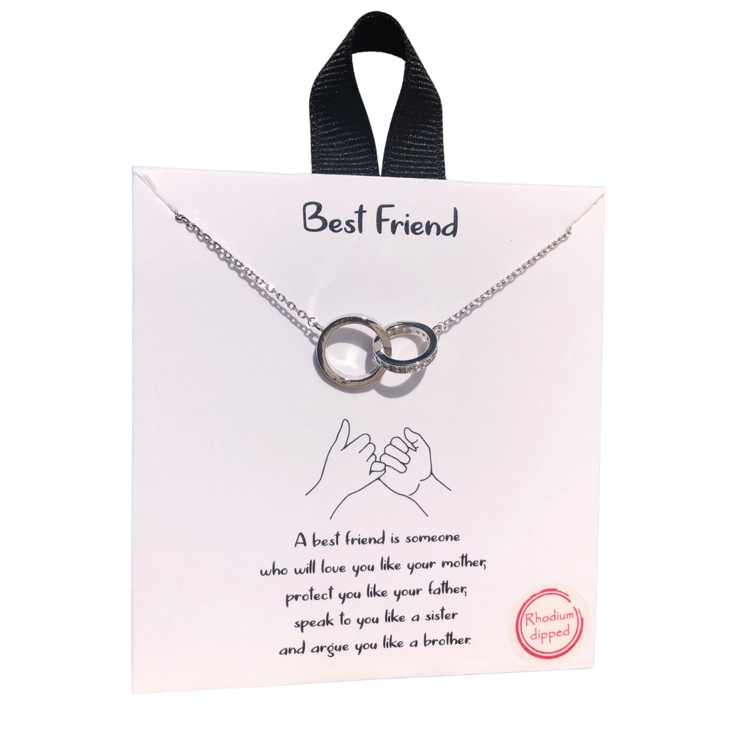 Best Friend Necklace (Silver)