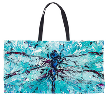 Load image into Gallery viewer, Dragonfly Weekender Totes-tote-fercaggiano