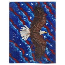 Load image into Gallery viewer, American Eagle Minky Blankets-blanket-fercaggiano