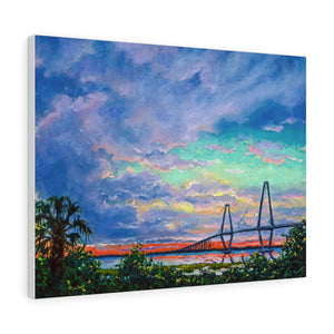 Ravenel Bridge Canvas Gallery Wraps-Canvas-fercaggiano