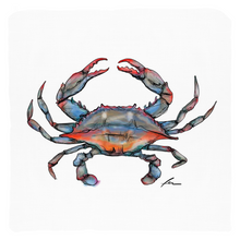 "Load image into Gallery viewer, Blue Crab Throw Pillows 20x20""-pillows-fercaggiano"