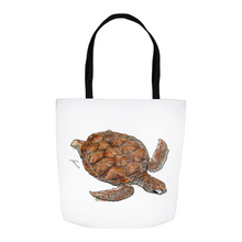 Load image into Gallery viewer, Turtle Tote Bag-tote-fercaggiano