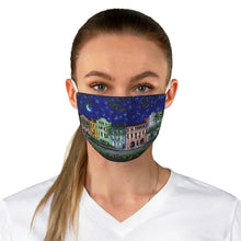 Load image into Gallery viewer, Rainbow Row at Night Fabric Face Mask-face mask-fercaggiano
