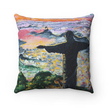 Load image into Gallery viewer, Rio Spun Polyester Square Pillow-pillows-fercaggiano