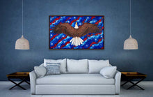 "Load image into Gallery viewer, Freedom Rising | Original Oil Painting | 60x36""-original art-fercaggiano"