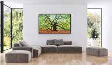 "Load image into Gallery viewer, The Majestic Angel Oak | Original Oil Painting | 60x36""-original art-fercaggiano"