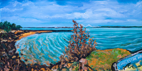 Charleston Harbor | Original Oil | 20x10