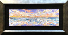 "Load image into Gallery viewer, Costal Sunset | Original Oil | 9x3""-original art-fercaggiano"