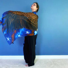 Load image into Gallery viewer, American Eagle Wings Modal Scarves-scarves and shawls-fercaggiano
