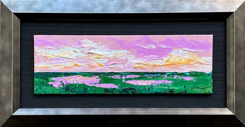 Easter Morning | Original Oil | 9x3