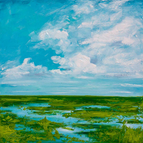 IOP Connector Marsh | Original Oil-original art-fercaggiano