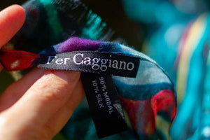 Peacock Modal Scarves-scarves and shawls-fercaggiano