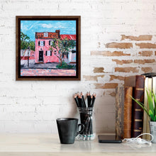 Load image into Gallery viewer, The Pink House | Original Oil-original art-fercaggiano
