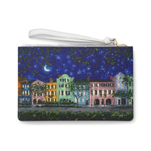 Load image into Gallery viewer, Rainbow Row at Night Clutch Bag-Bags-fercaggiano