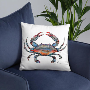 Crab Outdoor Pillows-pillows-fercaggiano