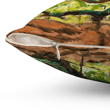 Load image into Gallery viewer, Angel Oak Spun Polyester Square Pillow-pillows-fercaggiano